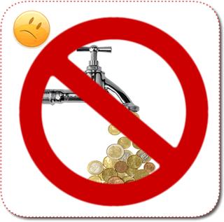 Geldhahn-zugedreht